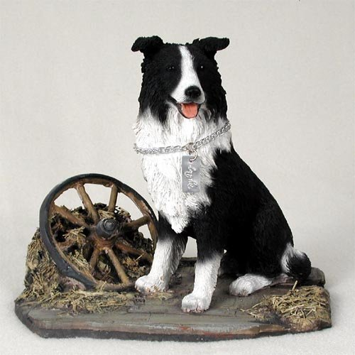 Collie Dog Figurine (Border Collie Dog Figurine - MyDog)