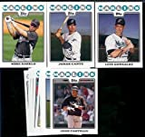 Florida Marlins Baseball Cards - 5 Years Of Topps Team Sets 2007,2008,2009,2010, & 2011 - Includes ALL regular issue Topps Cards For 5 Years - Includes Stars, Rookie Cards & More!