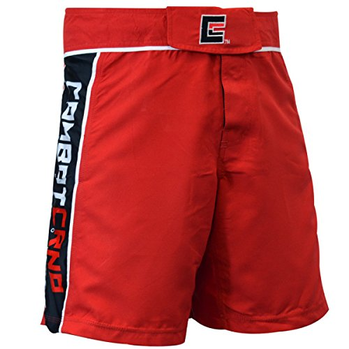 Combat Corner Pro MMA 2.0 Fight Shorts Red 36 by Combat Corner