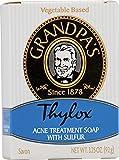 nature de france deodorant - Grandpas Thylox Acne Treatment Soap 3.25 oz