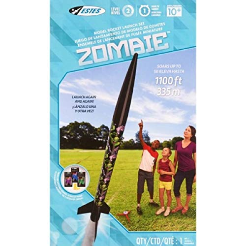 Estes Zombie Flying Model Rocket Launch Set Kit from Estes