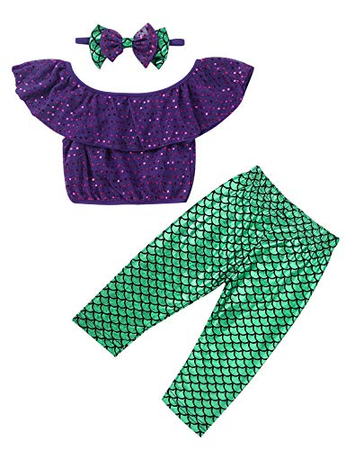 Yeahdor Baby Toddlers Girls' Little Mermaid Fancy