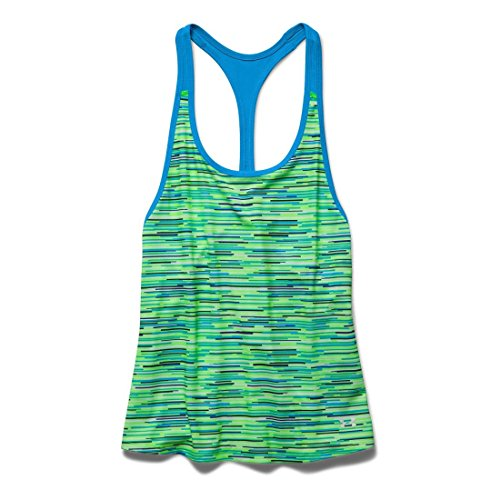 Womens Under Armour Alpha Mesh Printed Loose Tank