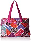 Vera Bradley Triple Compartment Travel Bag, Modern Medley Pink