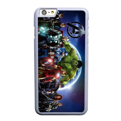Coque,Coque iphone 6 6S 4.7 pouce Case Coque, The Avengers Superhero Cover For Coque iphone 6 6S 4.7 pouce Cell Phone Case Cover blanc
