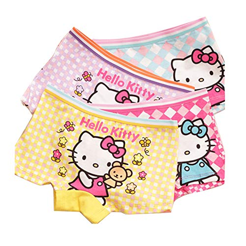 Aliyaer Girls Panties Toddler Underwear Boxers Briefs Panties 4pack (2-4T, 2020)