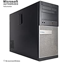 Dell Optiplex 790/990 Tower Desktop Computer (Intel Core i5-2400 3.1GHz,8GB DDR3 RAM,120G SSD+3TB HDD,DVD-ROM,USB WIFI,Windows 10 Pro 64-Bit) (Certified Refurbished)