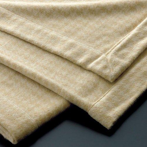 西川リビング ピュアカシミヤ毛布/CA1305 シングル カシミヤ100% 厳選素材&匠の技 日本製 ベージュ B07BQ9CHJ2