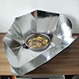 Generic Portable Solar Cooker Panel Oven New Copenhagen Stove Camping Cooking Tools Hiking Picnic All Year