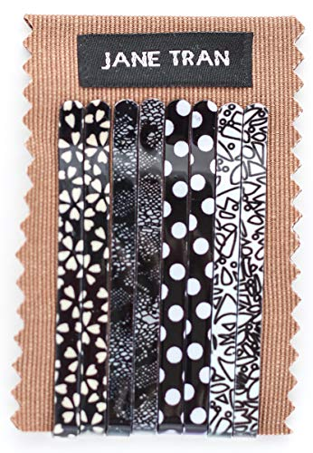 (Assorted Abstract Print Bobby Pin set (A))