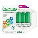 Flonase Allergy Relief Nasal Spray, 120 Metered Sprays 0.54 oz (Pack of 3)