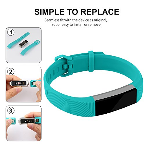 For-Fitbit-Alta-Bands-and-Fitbit-Alta-HR-Bands-Newest-Adjustable-Sport-Strap-Replacement-Bands-for-Fitbit-Alta-and-Fitbit-Alta-HR-Smartwatch-Fitness-Wristbands-Black-Coral-Teal-Large
