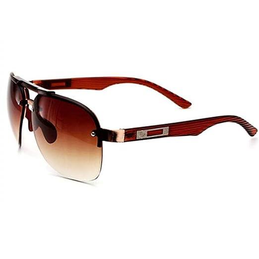 Yangjing-hl Gafas de Sol Unisex Recubrimiento Gafas de Sol ...