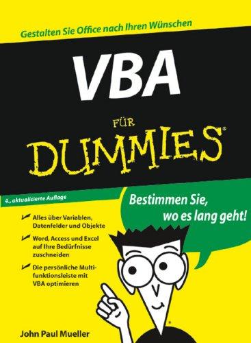VBA für Dummies (German Edition) Pdf