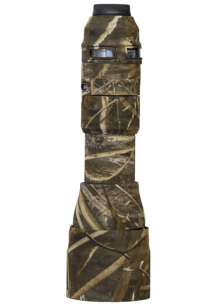 LensCoat Cover Camouflage Neoprene Camera Lens Cover Protection Tamron SP 150-600mm F/5-6.3 Di VC G2, Realtree Max5 (lct1506002m5)