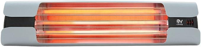 Pubsun Infrarossi Stufe 1300W Bianco Ceramica Elementi lucidato involucro metallico