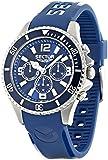 Sector - R3251161003 - 230 - Montre Homme - Quartz Chronographe - Cadran Bleu - Bracelet Plastique Bleu