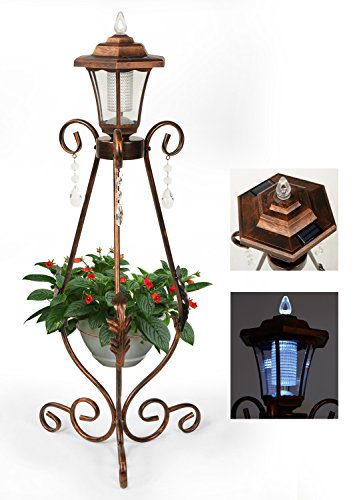 Solar Light Planter Pots - 5