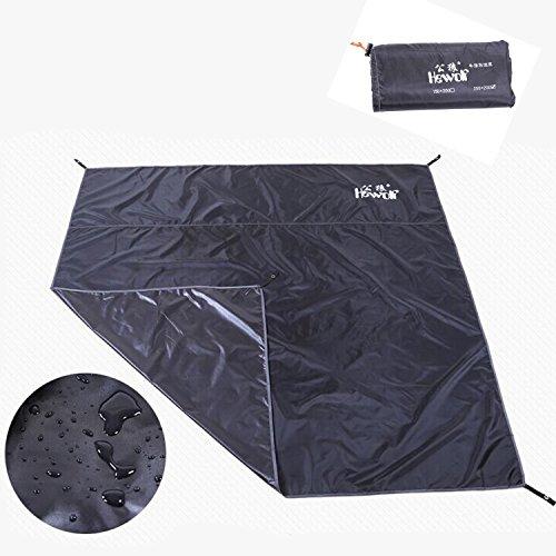 Amazon.com  Hewolf Moisture Proof Tent Footprint Waterproof Index 10000mm for C&ing Sand Beach Groundsheet Black  Health u0026 Personal Care & Amazon.com : Hewolf Moisture Proof Tent Footprint Waterproof Index ...
