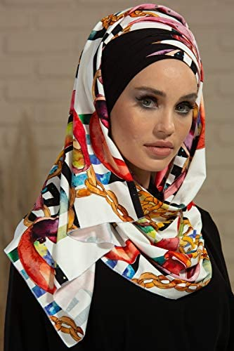 Personalized Jersey scarf stretchy scarf initial scarf burgundy scarf turquoise scarf flower wrap turban shawl hijab rectangular women gift.