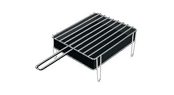 Sauvic 02900 - Parrilla de sobremesa de acero inoxidable, 18/8, 25 x 20 x 12.5 cm