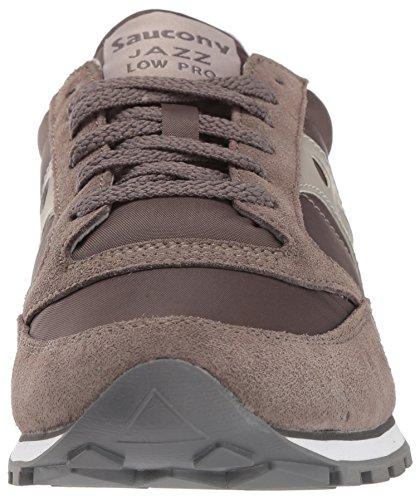 Uomo PRO Low Saucony Sneaker Grigio Grey Charcoal Jazz wO6qI1qxFa