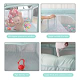 Baby Playpen Portable Kids Safety Play Center Yard
