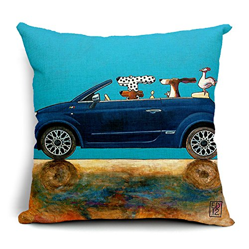 Cozylife Cartoon Animal cachorros perro Mini azul coche ...