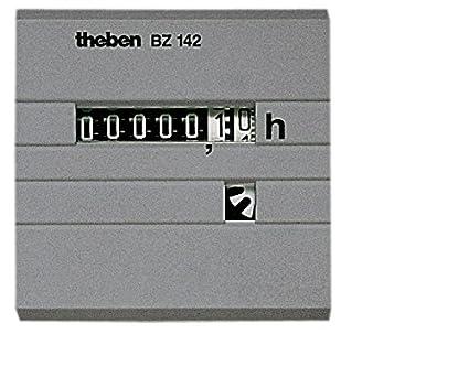 Theben bz142-1 - Cuenta horas sin retorno a cero empotrar