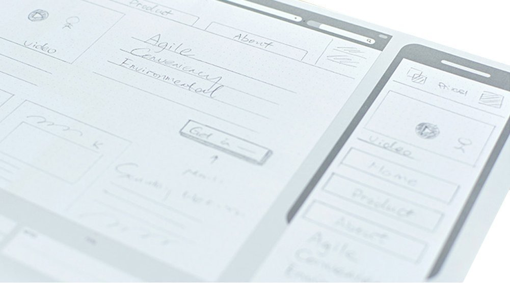 Loghot Creative Draft Drawing UI Design Responsive Sketch Pad for App Design Template by Loghot (Image #5)