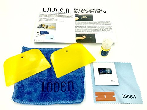 Adhesive Car Badge - Car-Emblem-Decal-Installation-Removal-Debadging-Kit-Tool-Wedge-Automotive-Badge-Car-Truck-SUV (Loden)