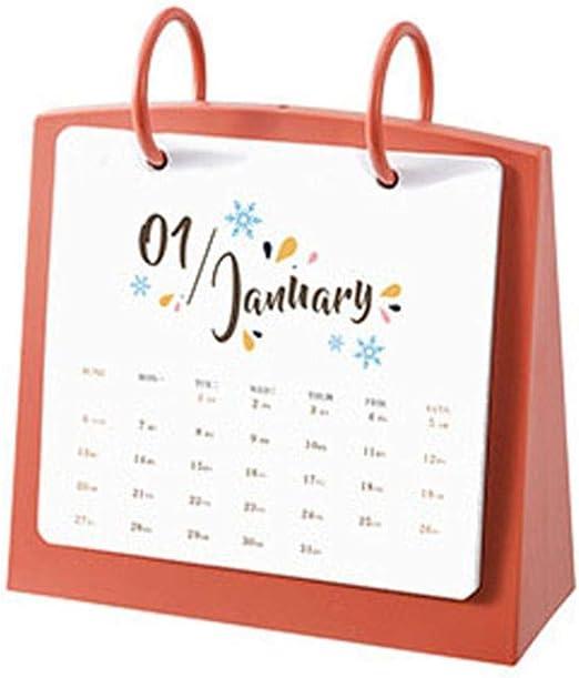 Grea Pig Planner Agenda 2019 Mesa de Bricolaje Calendario de Mesa ...