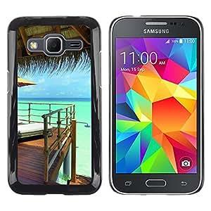"For Samsung Galaxy Core Prime / SM-G360 , S-type Naturaleza Hermosa Forrest Verde 158"" - Arte & diseño plástico duro Fundas Cover Cubre Hard Case Cover"