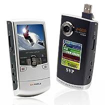 SVP T300 Grey HD 720p POCKET CAMCORDER, YouTube Uploading Software