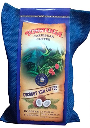 TORTUGA Caribbean Coconut Rum Ground Roasted Coffee -