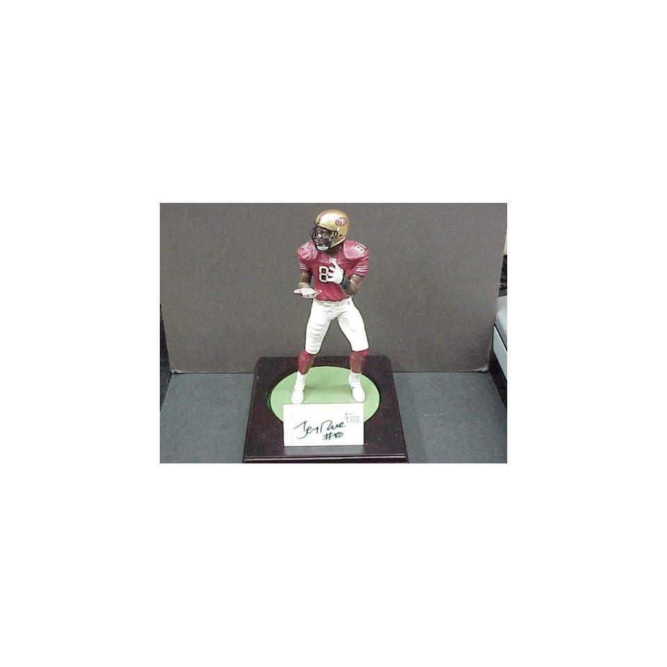 Jerry Rice Autographed Art of Sport Figurine w/COA
