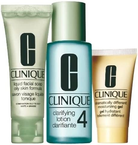 Clinique 3-Step Intro Kit for Skin Type 4 (Pack of 2): Amazon.es: Hogar