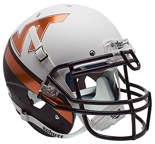 Virginia Tech Hokies Authentic College Schutt XP Football Helmet New 2015 - Virginia Tech Hokies Collectibles - Tech Hokies Authentic Football Helmet