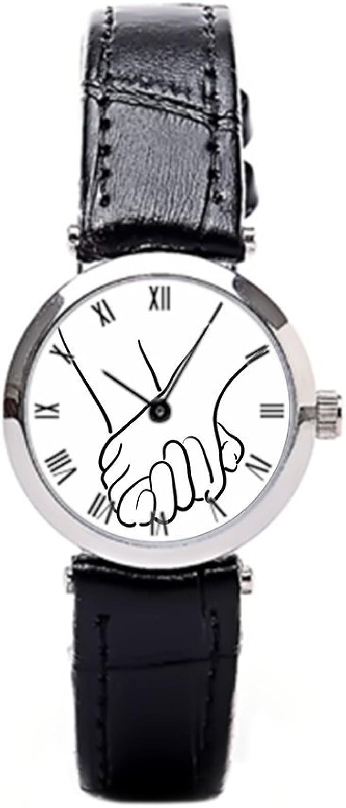 papibaby – Estuche para relojes Romance barato de cuero relojes: Amazon.es: Relojes