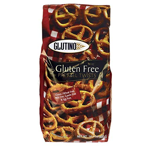 Gluten Free by Glutino Pretzel Twists, Delicious Everyday Snack, Salted, 14.1 Ounce