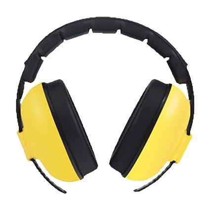 bd709557c67 Surenhap Niños Orejeras Protección Auditiva para los oídos Diadema  Ajustable Audífonos con Cancelación de Ruido y