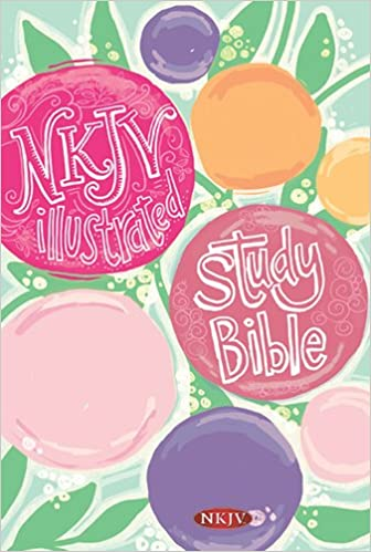 Illustrated Study Bible for Kids-NKJV-Girls: Holman Bible Staff