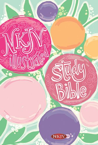 Kids Illustrated Letter (NKJV Illustrated Study Bible for Kids, Flower Hardcover)