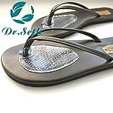 Dr.Seth Silicone Gel Thong Sandal Spreader -Flip-Flop Gel Toe Guards Cushions - 1 Pair