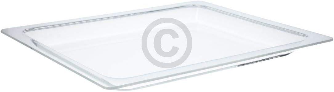 DL-pro Bandeja de cristal para horno y microondas Bosch Siemens Neff 114537 00114537 HMZ10GP