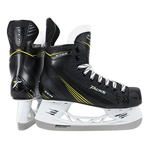 CCM Tacks 2052 Junior Ice Hockey Skates, 4.0 D - Tack Ice Hockey Skates