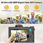 Digital-Video-Camera-4K-Camcorder-Ultra-HD-48MP-WiFi-YouTube-Vlogging-Camera-with-Wide-Angle-Lens-16X-Digital-Zoom-35-IPS-Touch-Screen-Camera-Recorder