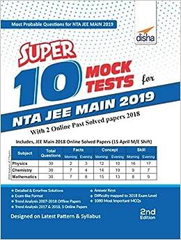 jee main mock test 2019