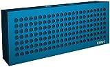 Coby Aluminum Brick Bluetooth Speaker (Blue)