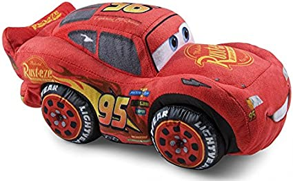 Amazon.com: Grandi Giochi Cars 3 - PELUCHE SAETTA MCQUEE: Toys \u0026 Games
